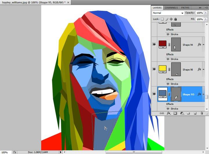 Edit foto wajah jadi warna warni 43